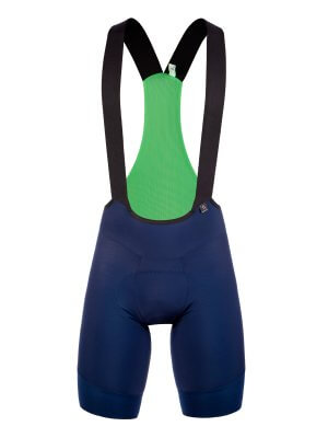 Mens cycling bib shorts Gregarius Ultra navy blue Q36.5