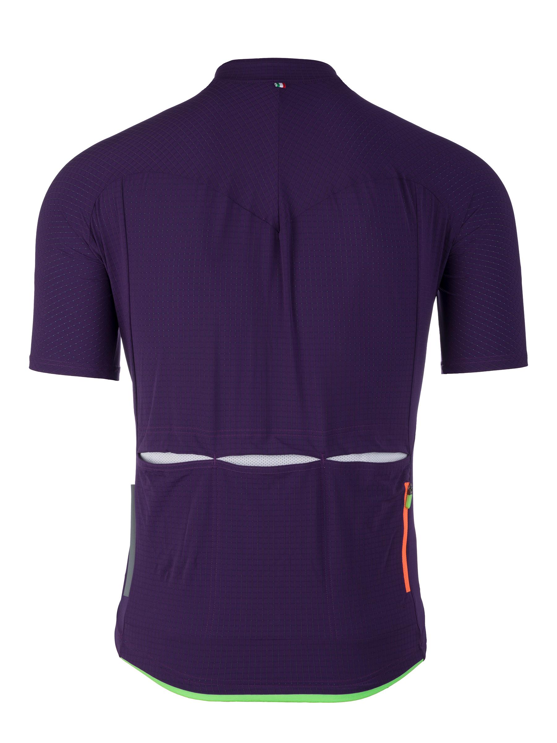 Maillot Manches Courtes L1 Pinstripe Violet
