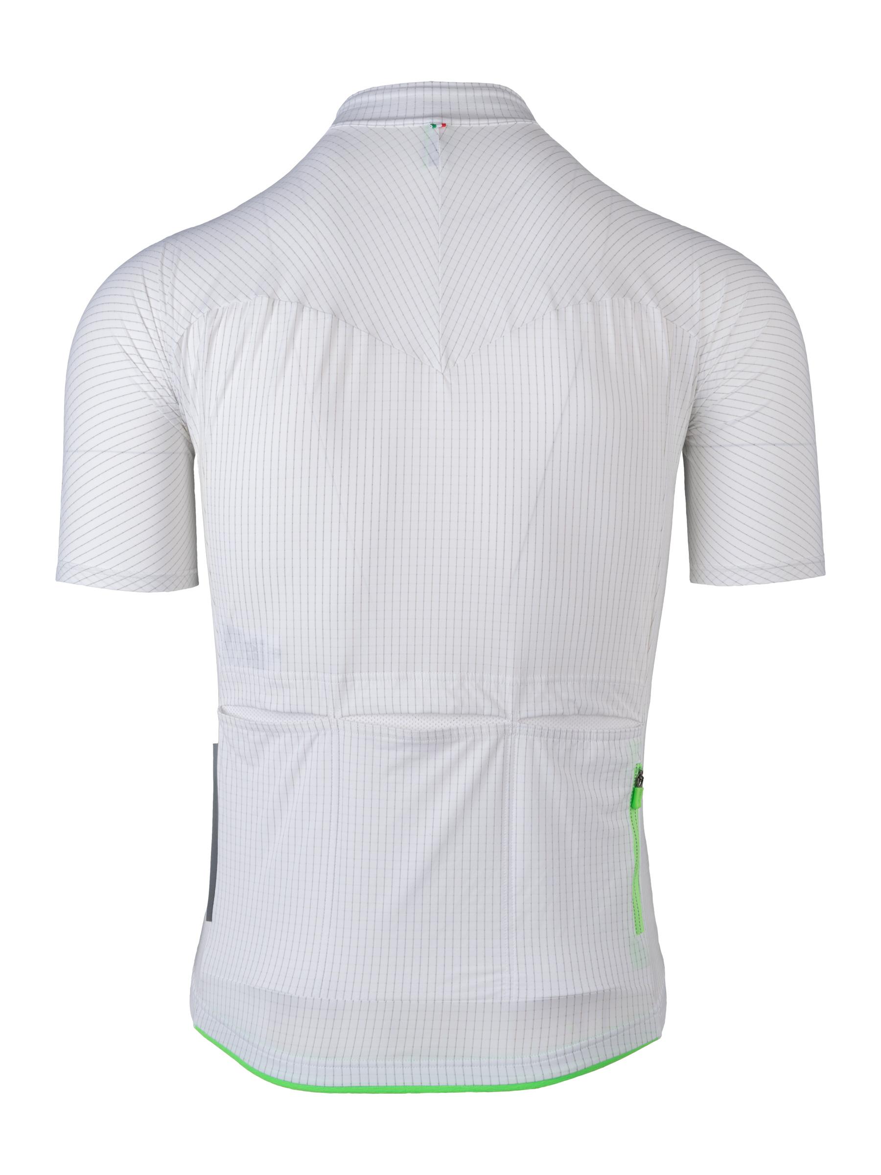 Maillot Jersey short sleeve L1 Pinstripe Blanco