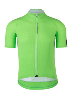 Cycling jersey short sleeve green fluo Q36.5