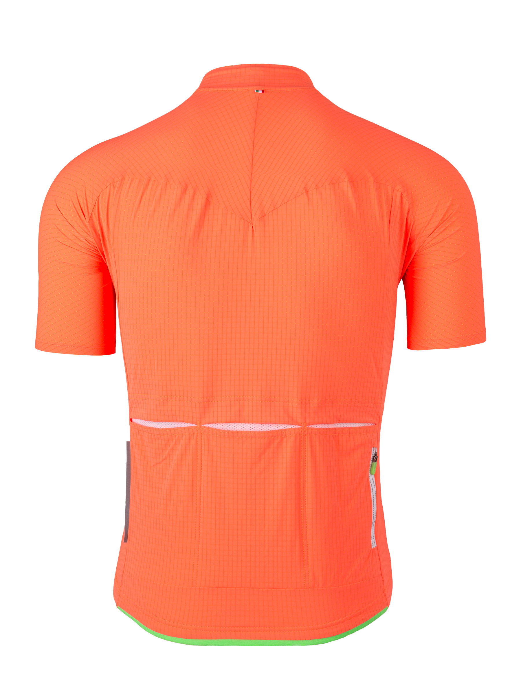 Jersey short sleeve L1 Pinstripe Orange Fluo