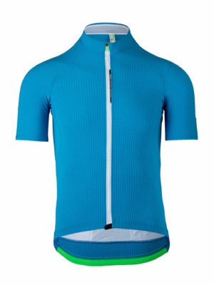 Mens cycling jersey L1 Pinstripe Q36.5 light blue