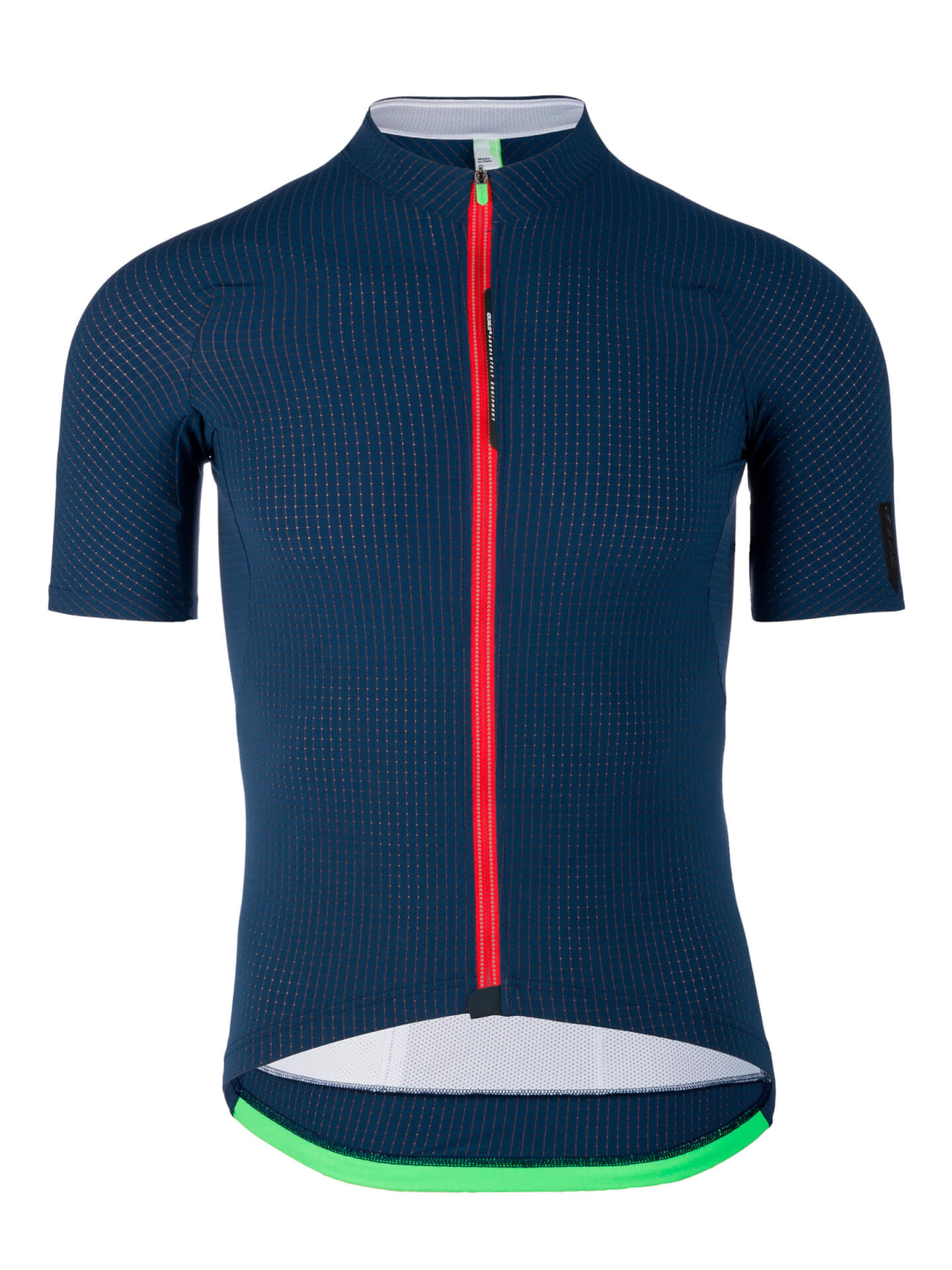 Mens cycling jersey L1 Pinstripe Q36.5 navy blue