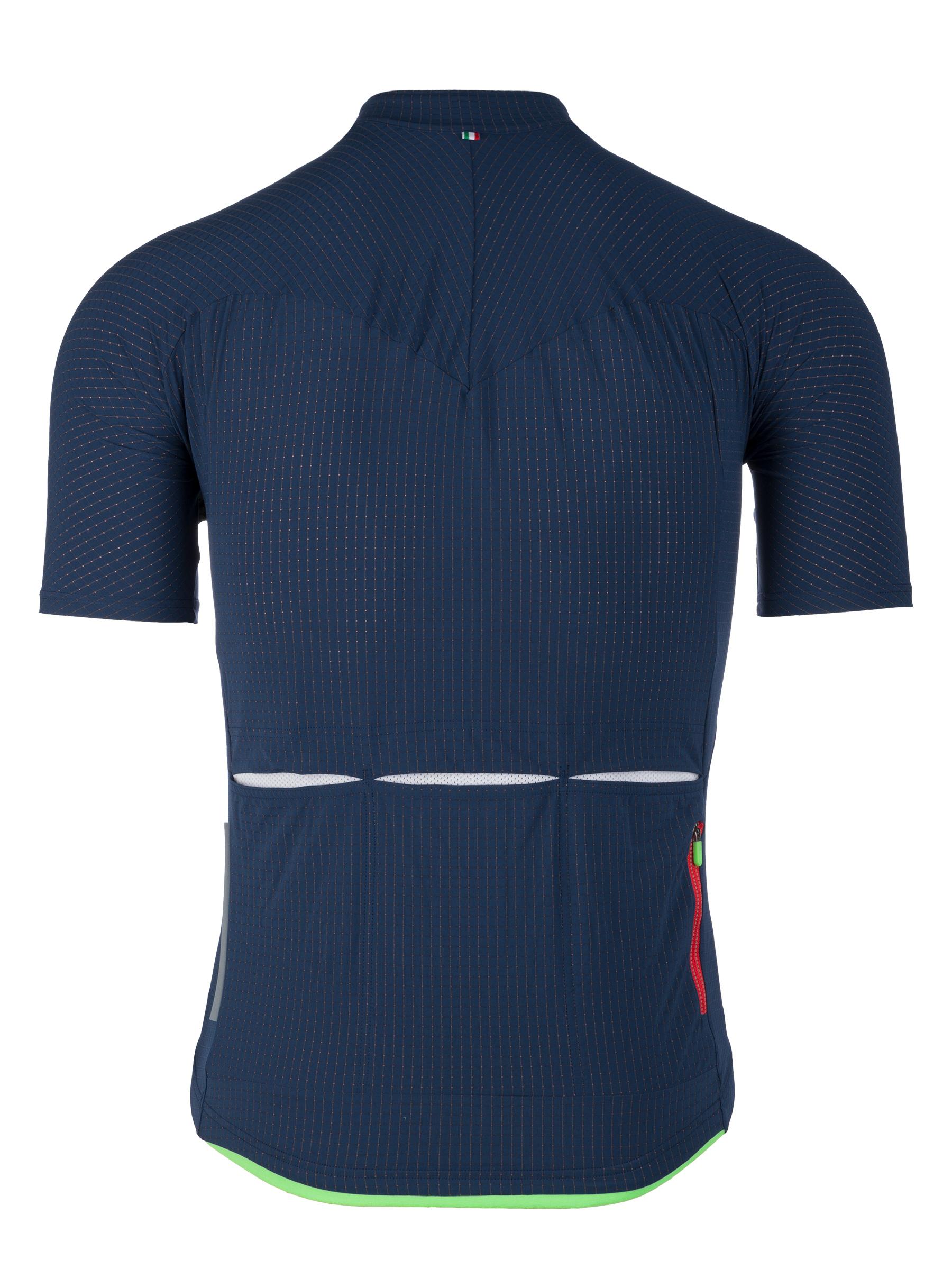 Radtrikot Jersey short sleeve L1 Pinstripe Navy