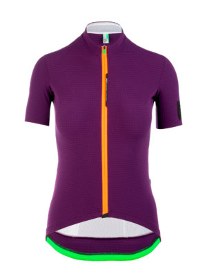 Womens cycling Jersey short sleeve L1 Lady purple Q36.5