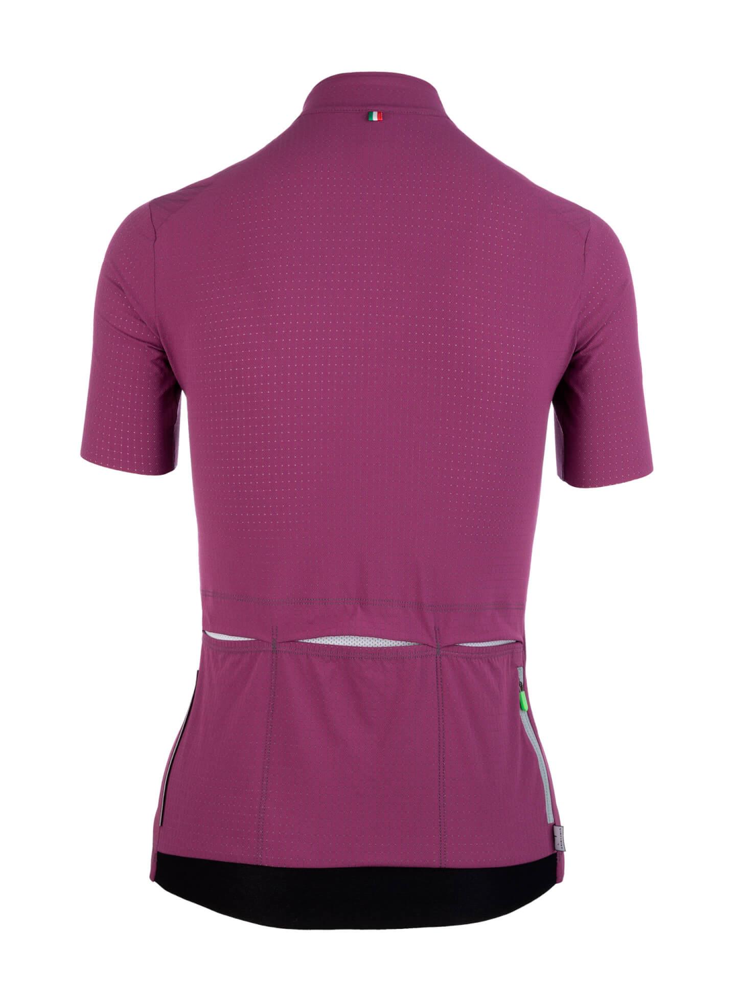 Kurzarmtrikot L1 woman Pinstripe X Purple