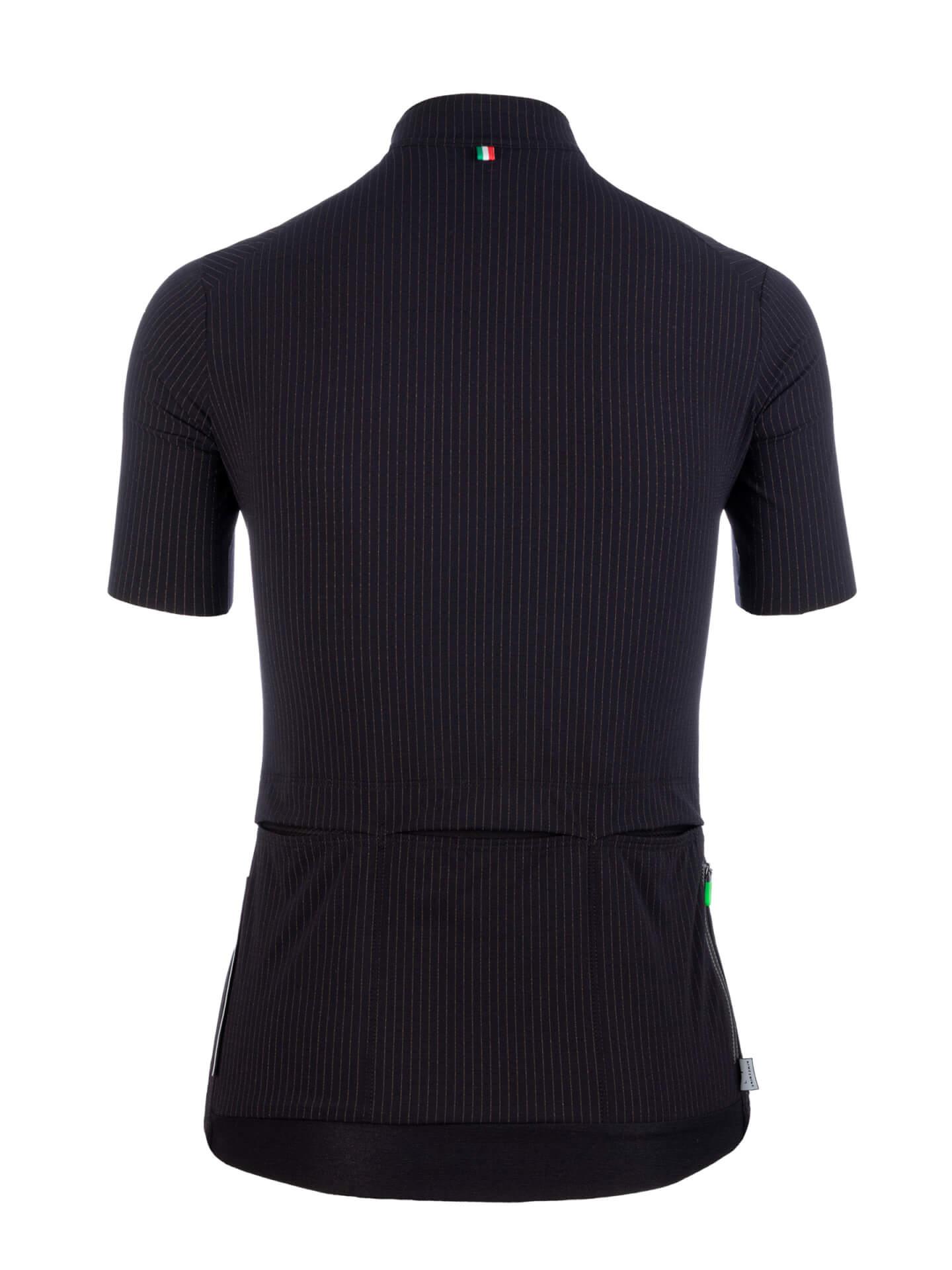 Maillot manches courtes L1 Woman Pinstripe X Noir
