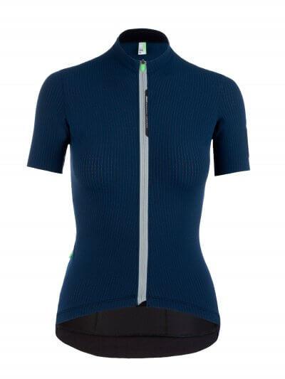 womens cycling jersey pinstripe x navy