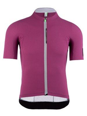 Maglia ciclismo uomo L1 Pinstripe X viola Q36.5