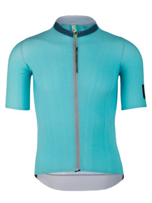 Mens cycling silk jersey short sleeve Seta tiffany Q36.5