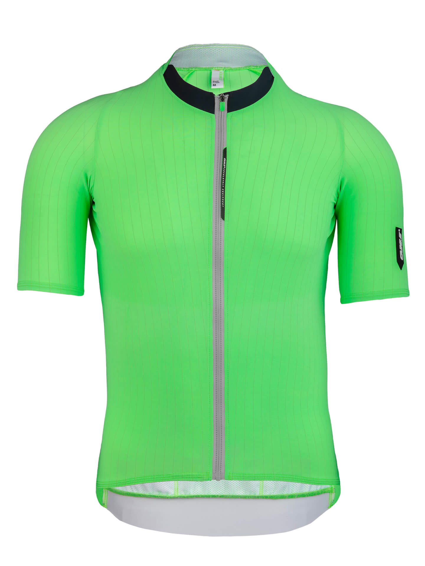 Mens cycling jersey short sleeve Seta green Q36.5