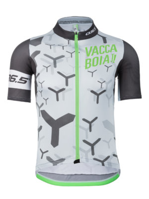 Mens cycling jersey short sleeve Vaccaboia Y Q36.5