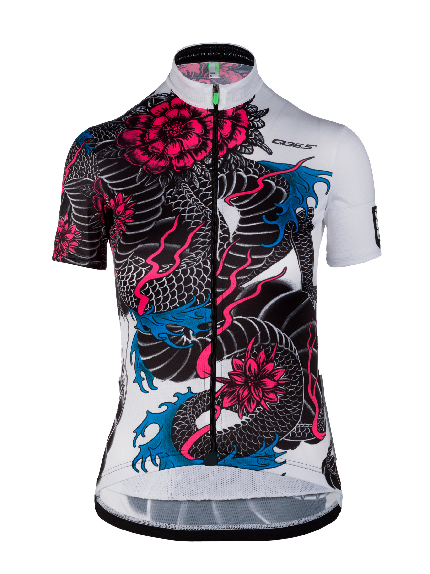 Womens cycling graphic Jersey short sleeve G1 Dragon Q36.5