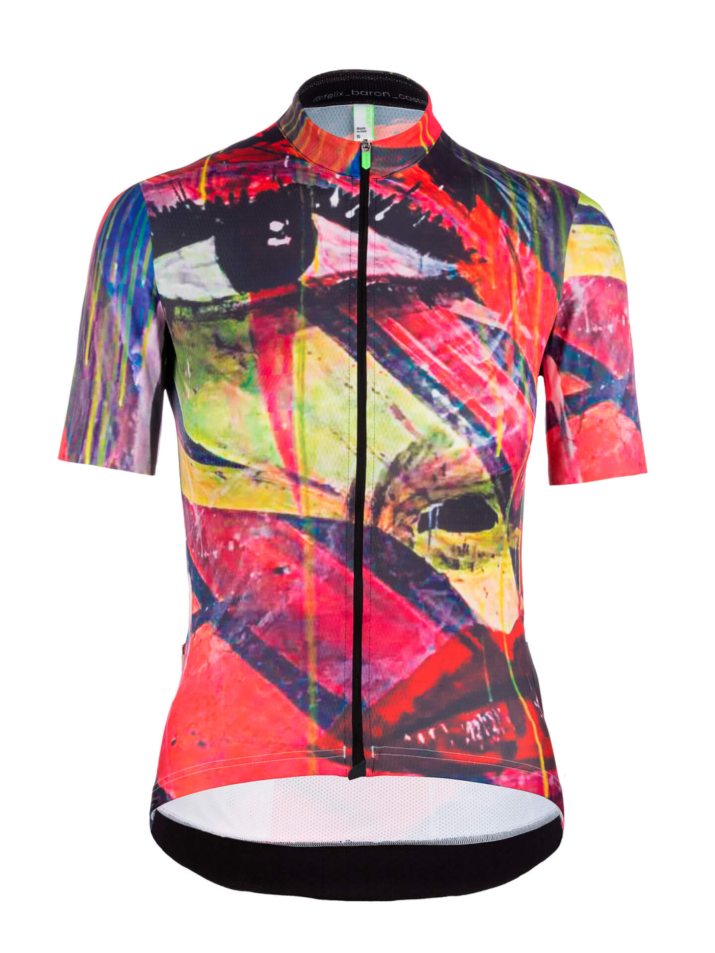 Womens cycling jersey short sleeve G1 Lady Felix Q36.5