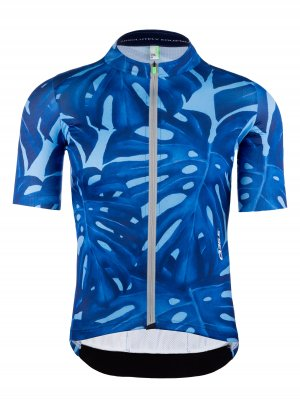 Mens graphic cycling jersey short sleeve G1 Panama Q36.5