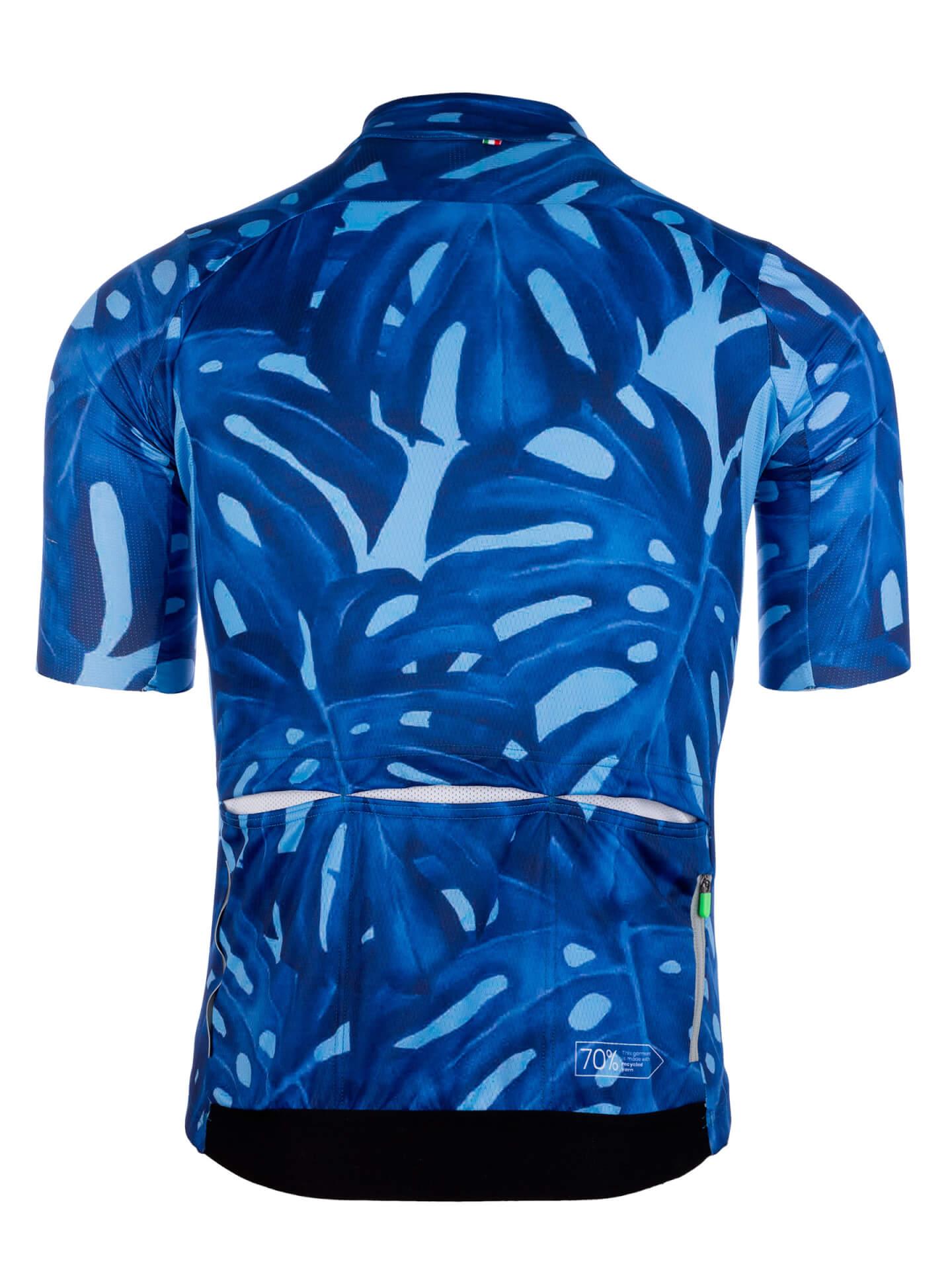 Maillot Jersey short sleeve G1 Panama bleu