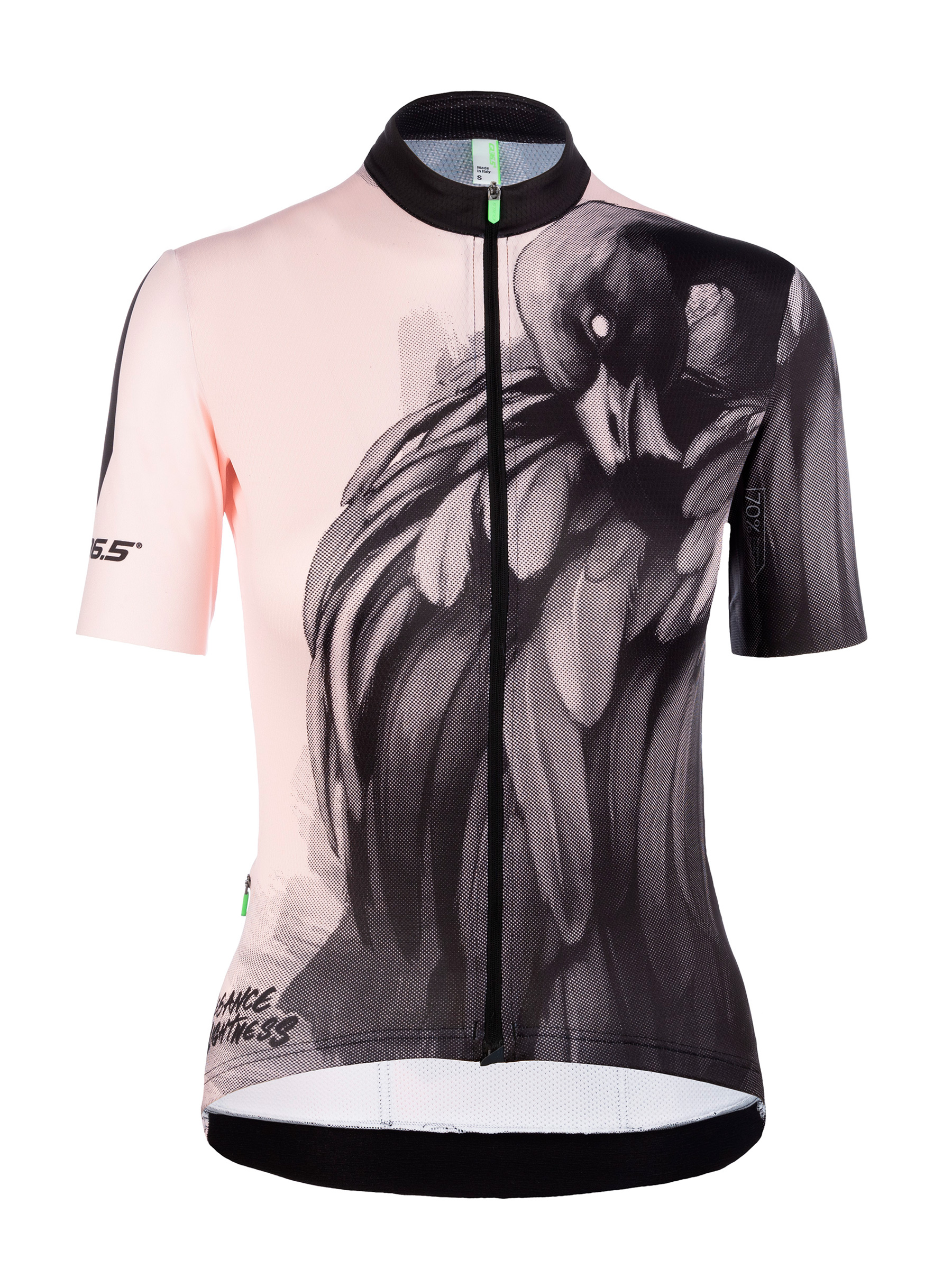 Womens cycling jersey short sleeve G1 Lady Flamingo Q36.5