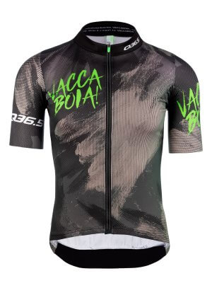 Mens cycling jersey short sleeve Vaccaboia X Q36.5