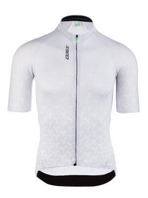 Maglia ciclismo uomo R2 Y bianca Q36.5