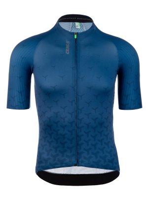 Maglia ciclismo uomo R2 Y blu Q36.5