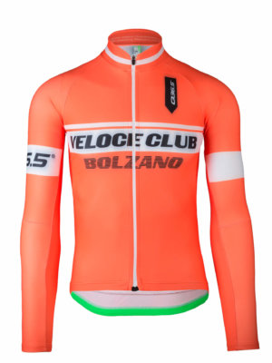 mens cycling jersey long sleeve veloce club bolzano