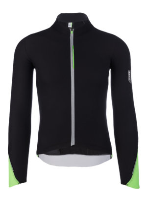 Mens cycling jersey long sleeve WoolF Q36.5