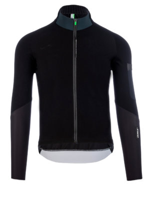 Mens cycling jersey Hybrid Que X black