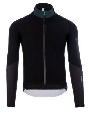 Maglia ciclismo uomo maniche lunghe Q36.5 Hybrid Que X nera