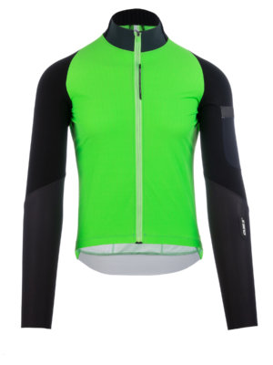 Mens cycling jersey Hybrid Que X green Q36.5