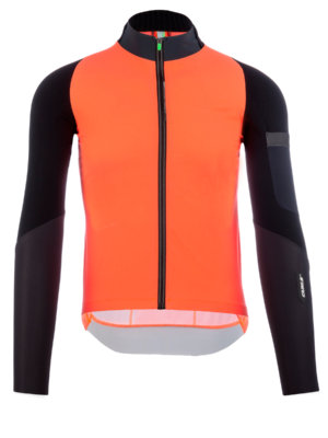 Mens cycling jacket Hybrid Que X orange Q36.5