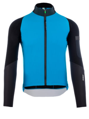 Mens cycling jacket Hybrid Que X Q36.5 light blue
