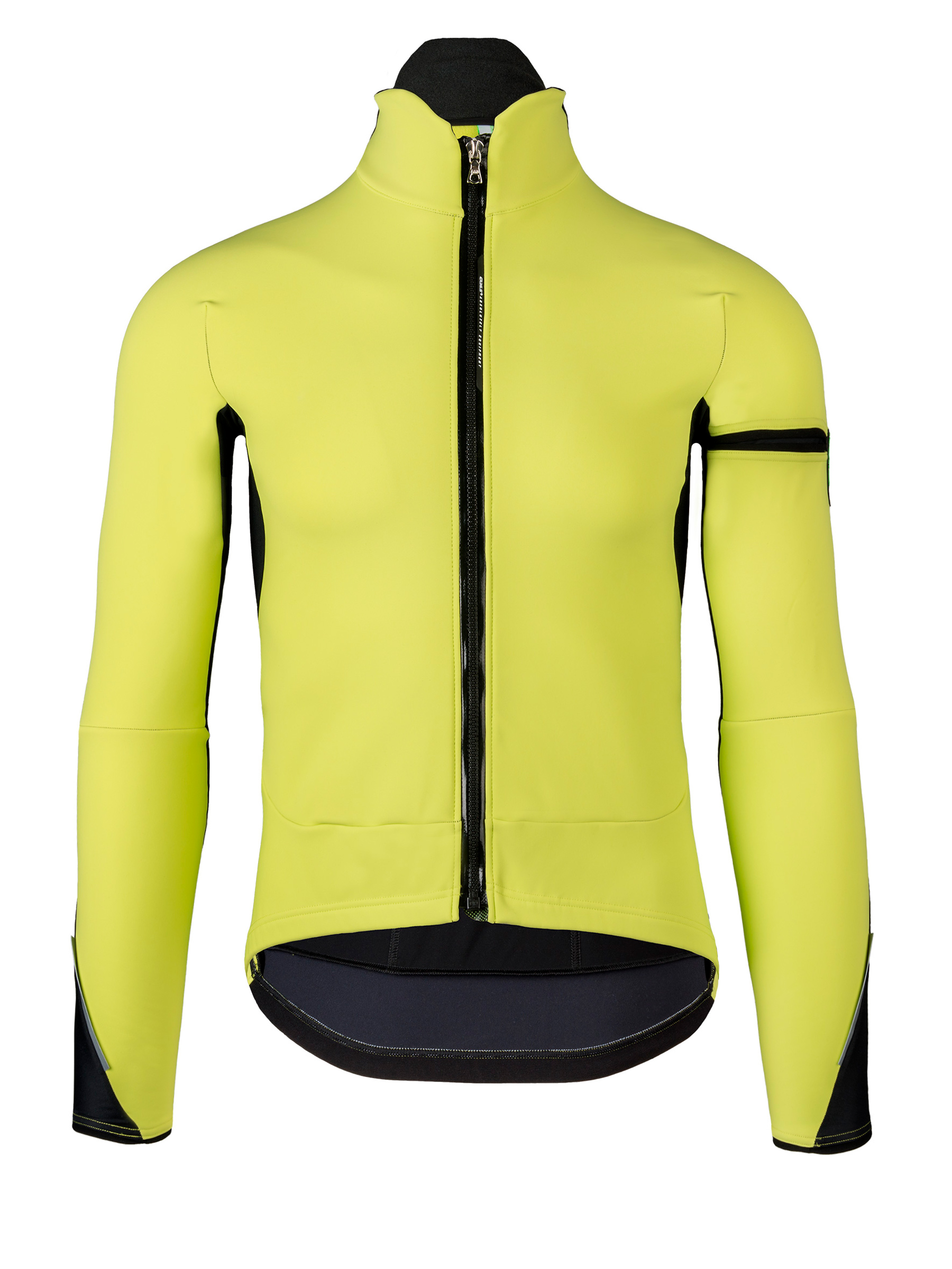 Mens cycling jacket Termica Jacket Q36.5 yellow Q36.5