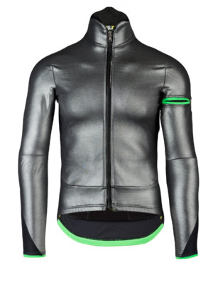 Mens cycling jacket Termica Jacket silver Q36.5