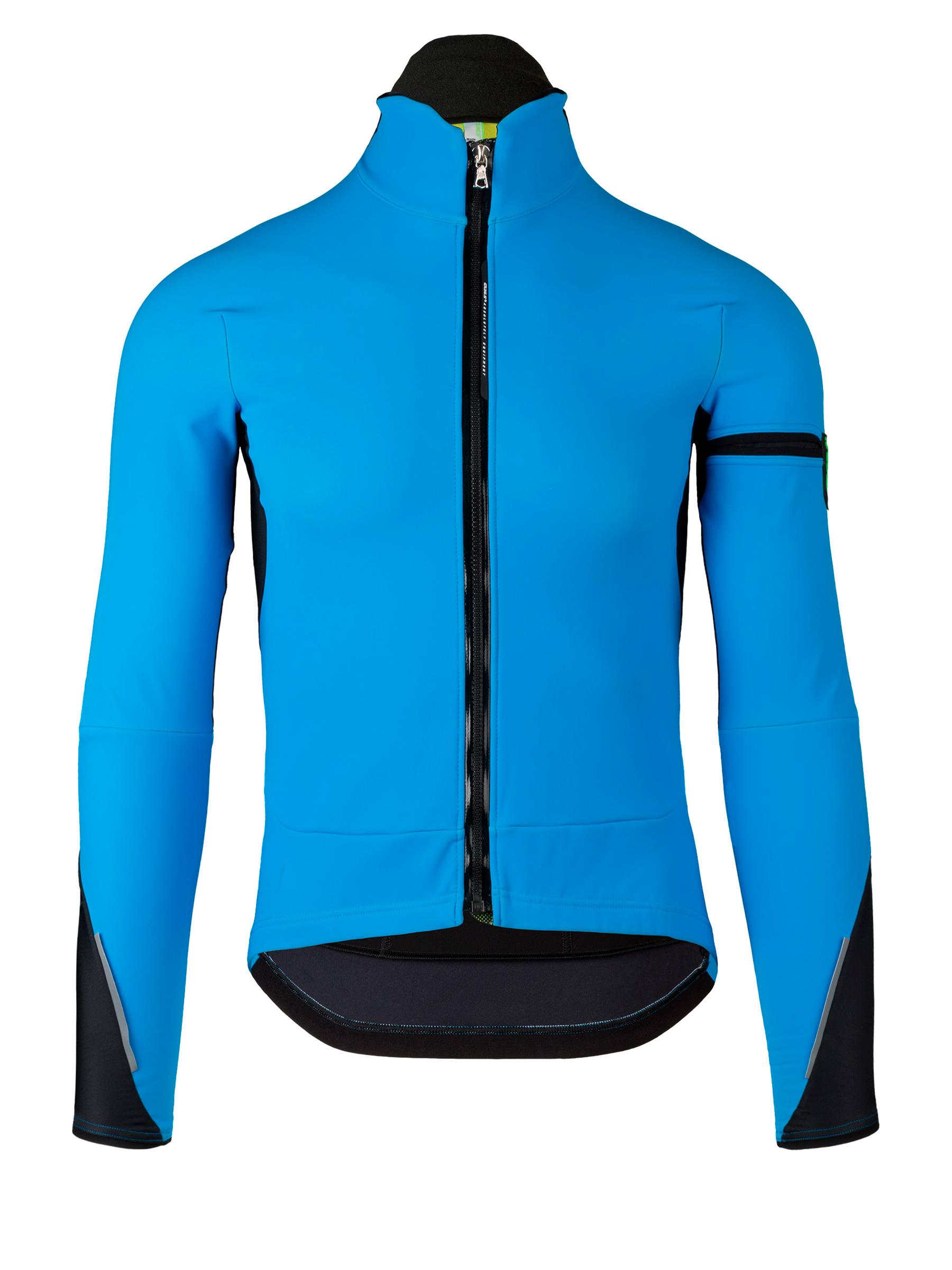 Mens cycling jacket Termica Jacket Q36.5 blue Q36.5