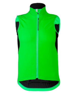 Mens cycling vest L1 Essential green fluo Q36.5