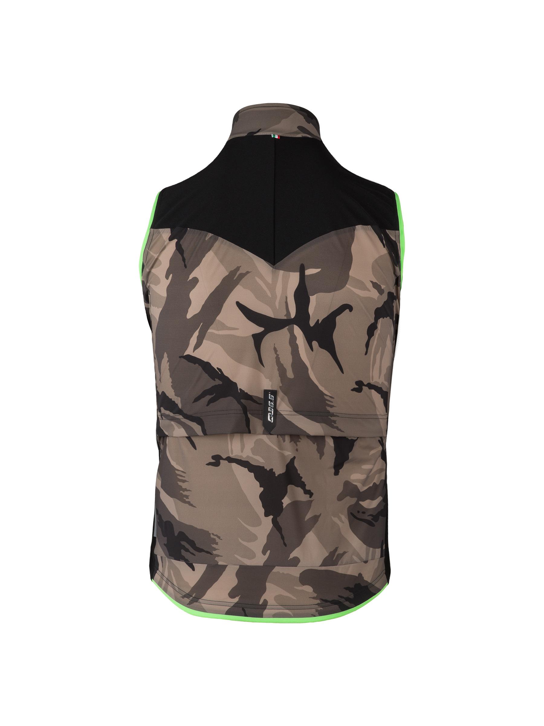 Gilet Vest L1 Essential Noir Camouflage