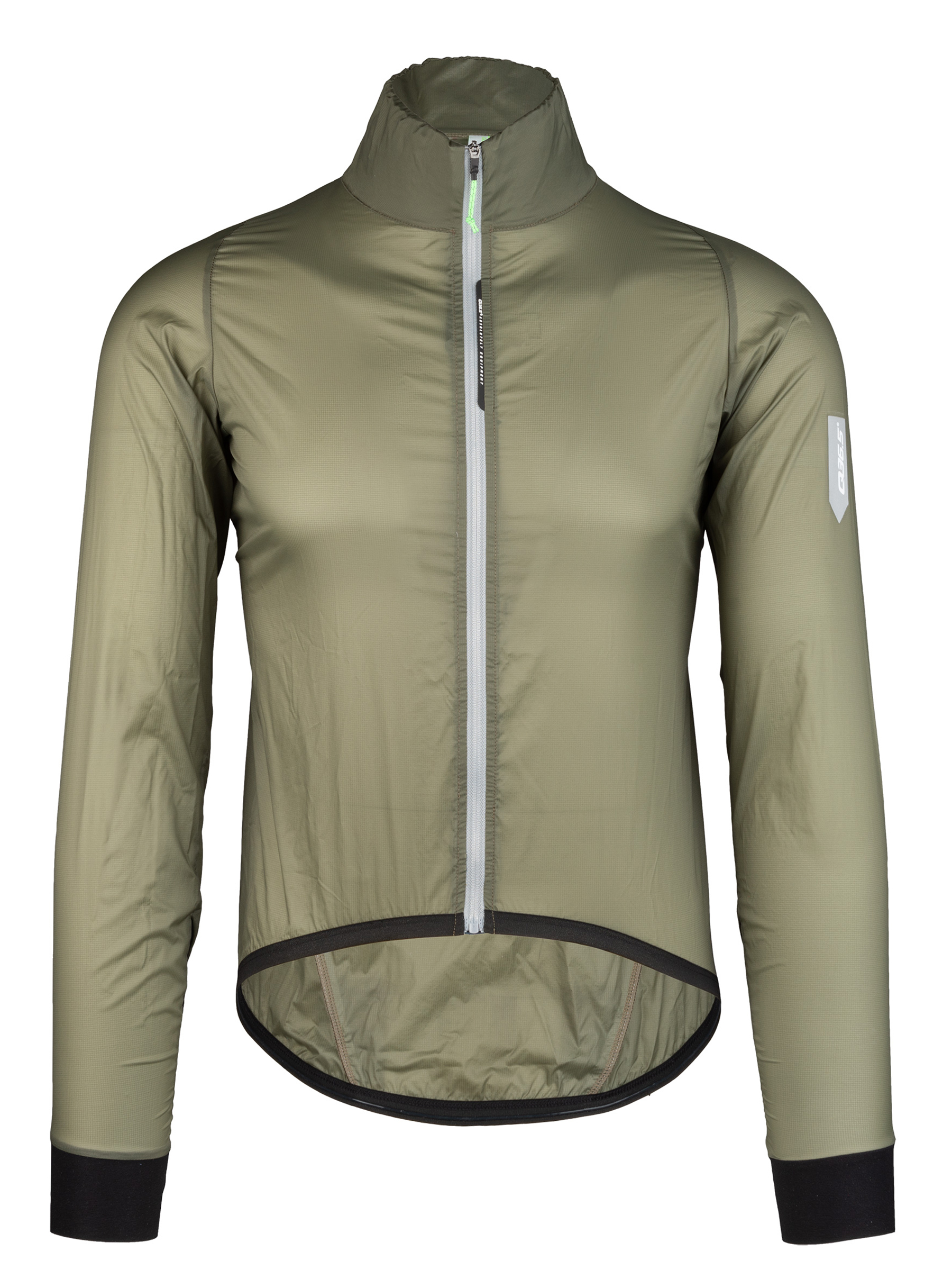 Cycling wind jacket Air shell olive green