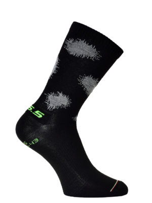 cycling socks Plus Snow Camo socks - black