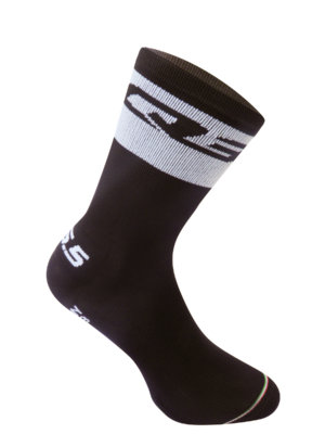 Cycling socks Compression white Band Socks Q36.5
