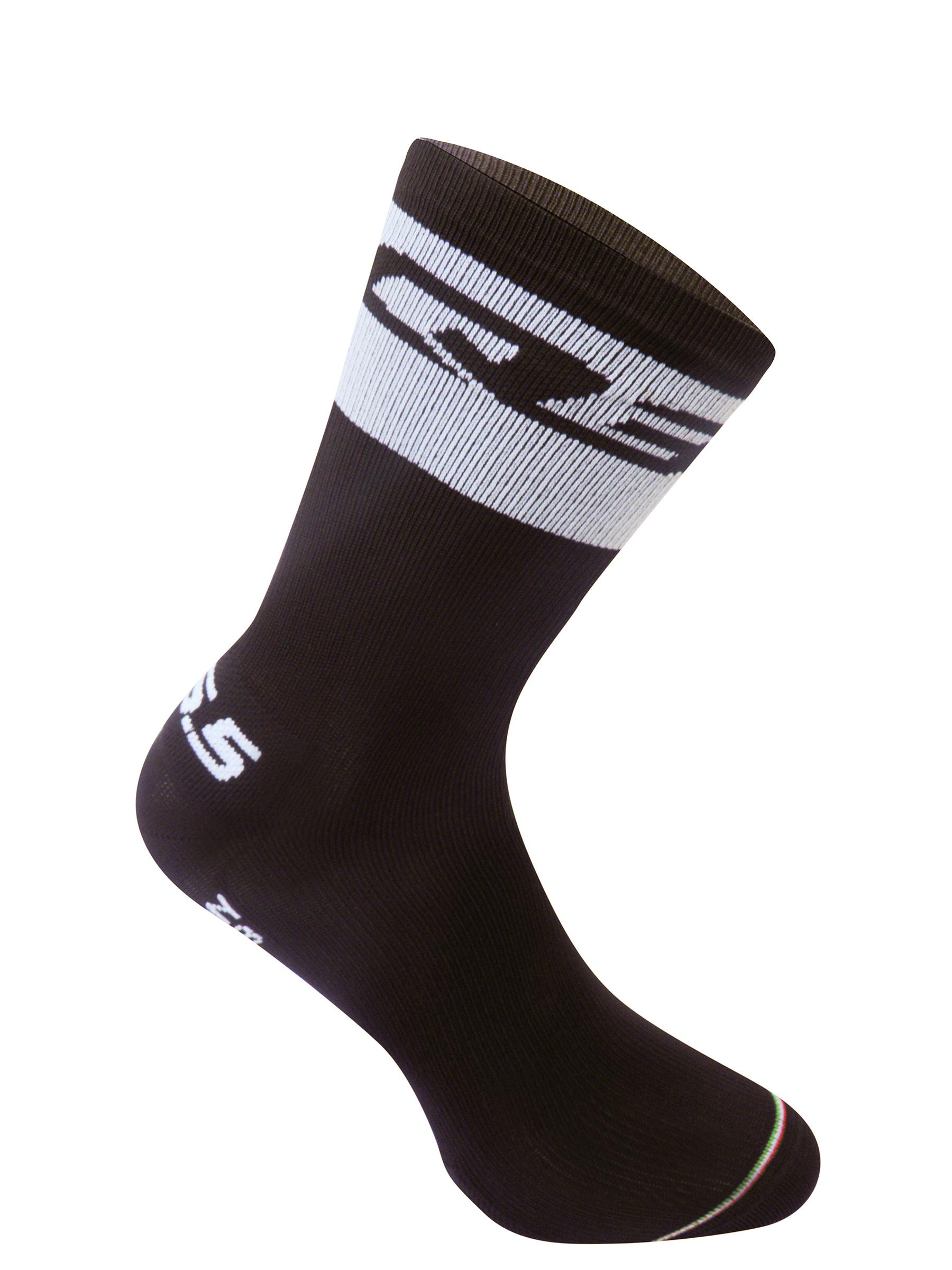 Cycling socks Compression white Band Socks Q36.5