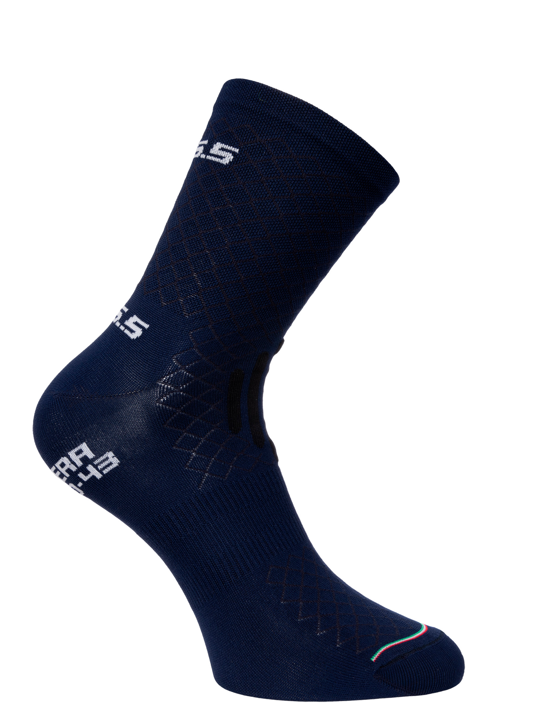 Cycling socks Leggera navy blue Q36.5 - side