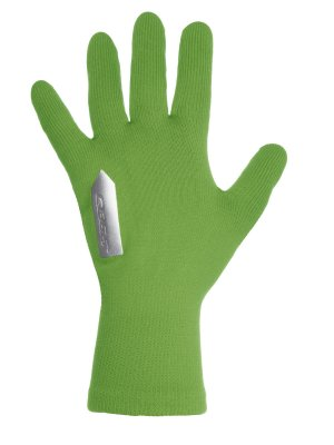 cycling glove Anfibio green fluo
