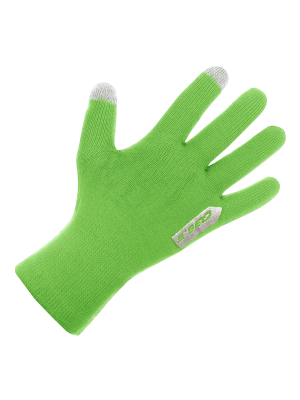 cycling glove Anfibio green fluo new21