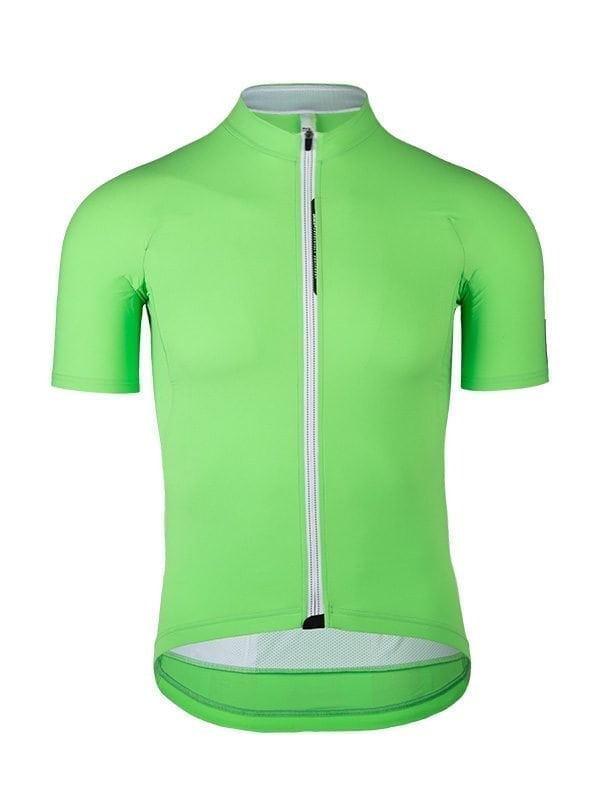 Maglia ciclismo uomo Pinstripe L1 Q36.5 verde