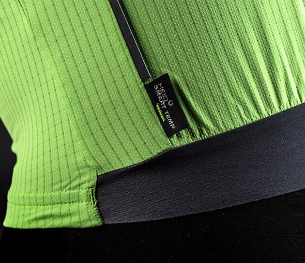 pinstripe x cycling jersey