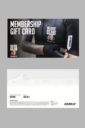 gift card veloce club membership