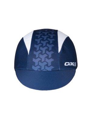 Cappellino ciclismo estivo L1 Y navy blue