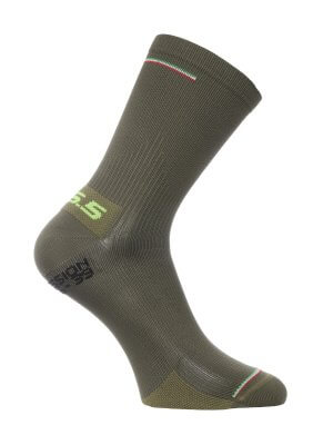 compression-wool-cycling-socks-olive-green-2067