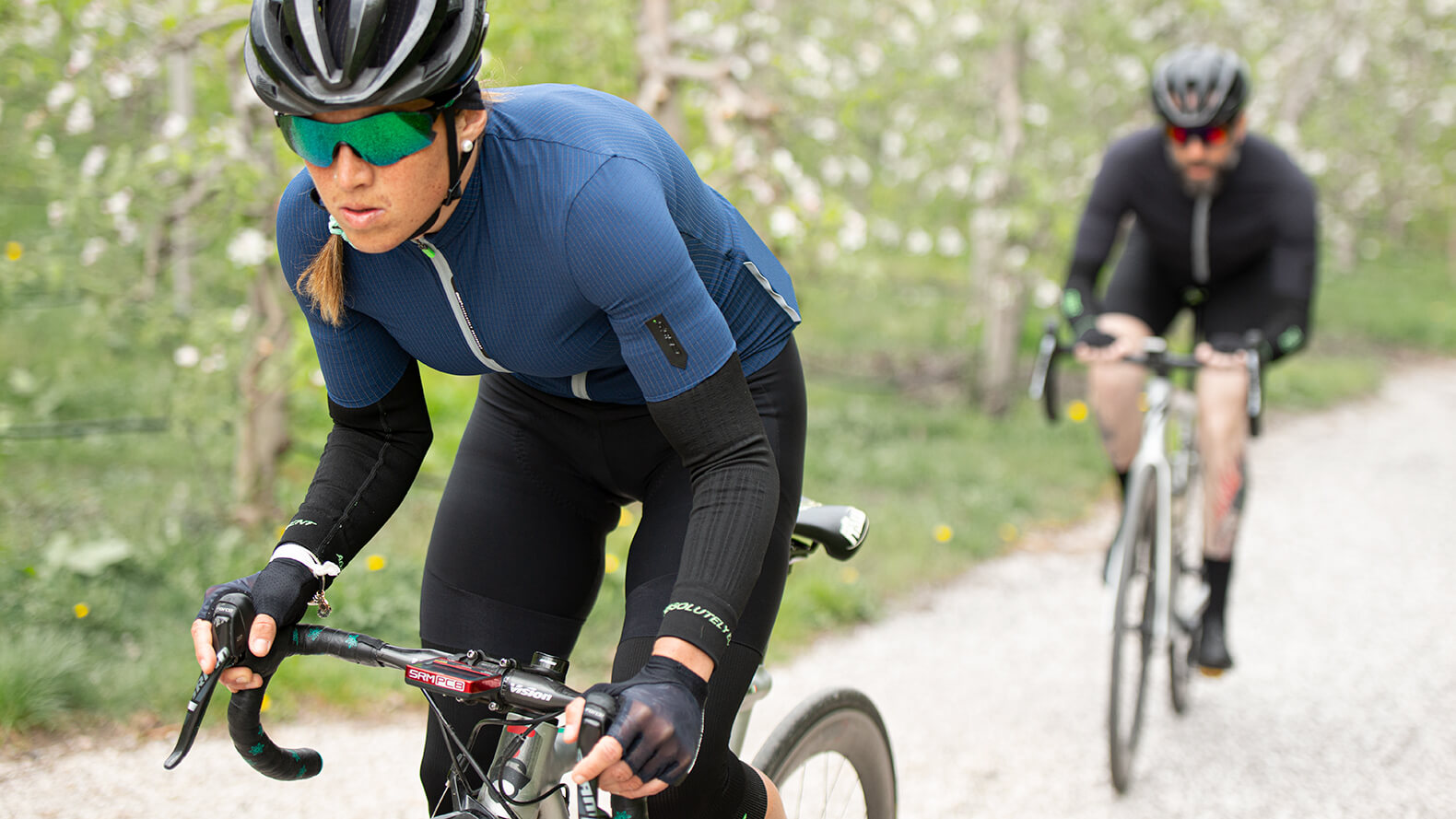 Cycling arm warmers
