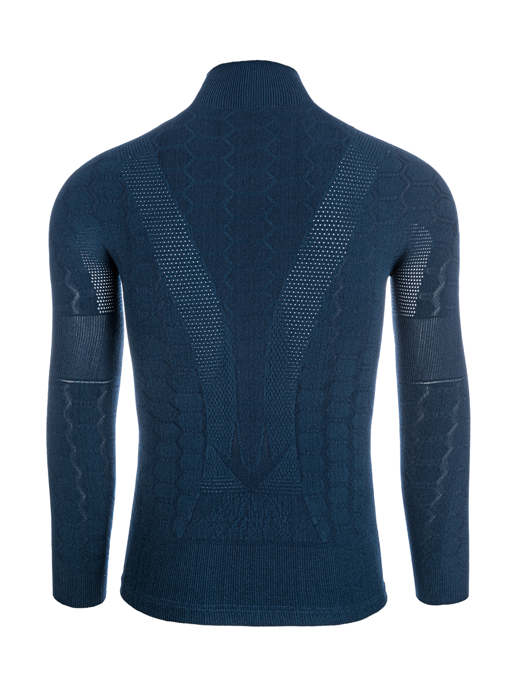 Base Layer 4 Plus langarm in Navy-Blau